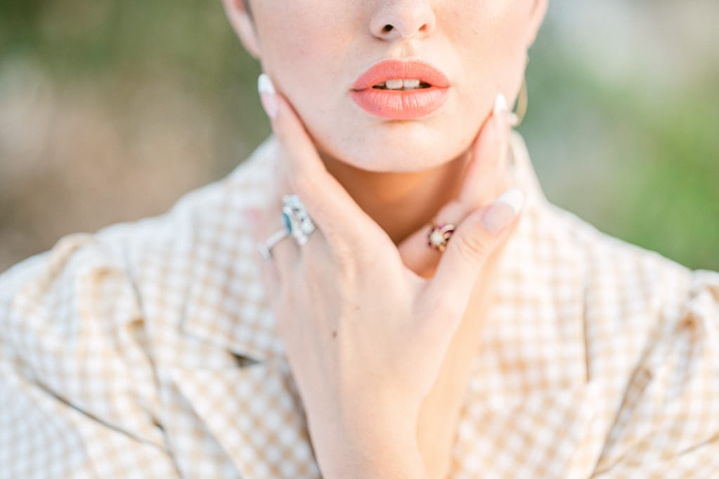 beautiful lips by Amy Huang Photography a San Diego Wedding Photographer