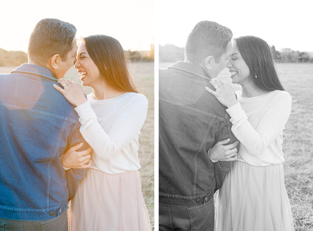 A beautiful couple photo between mom and dad at Los Penasquitos Preserve by Amy Huang Photography