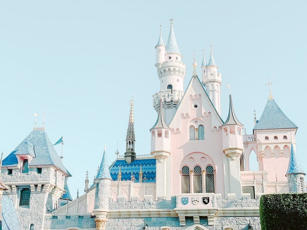 Cinderella Castle at Disneyland Anaheim by Amy Huang Photography
